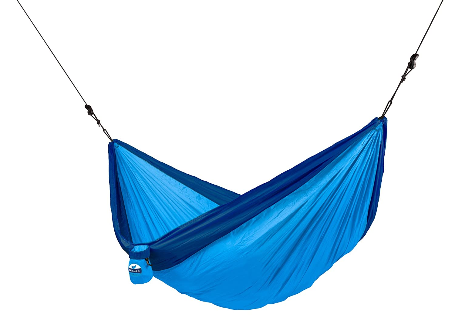chillax   blue   double travel hammock with integrated suspension  amazon ca  sports  u0026 outdoors chillax   blue   double travel hammock with integrated suspension      rh   amazon ca