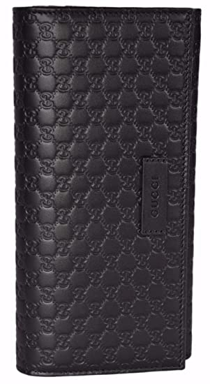 b44253019d6 Gucci Women s Leather Micro GG Continental Bifold Wallet (449396 BMJ1G  2044 Brown)  Amazon.co.uk  Clothing