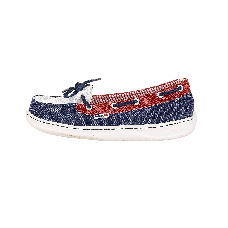 Dude Shoes Women's Moka Classic Navy Multi