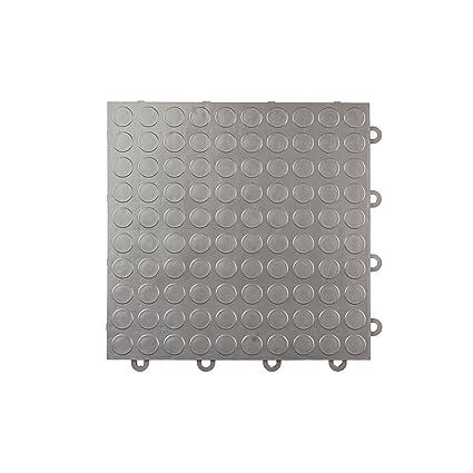 Incstores Coin Nitro Garage Tiles 12x12 Interlocking Garage Flooring Graphite 52 12x12 Tiles