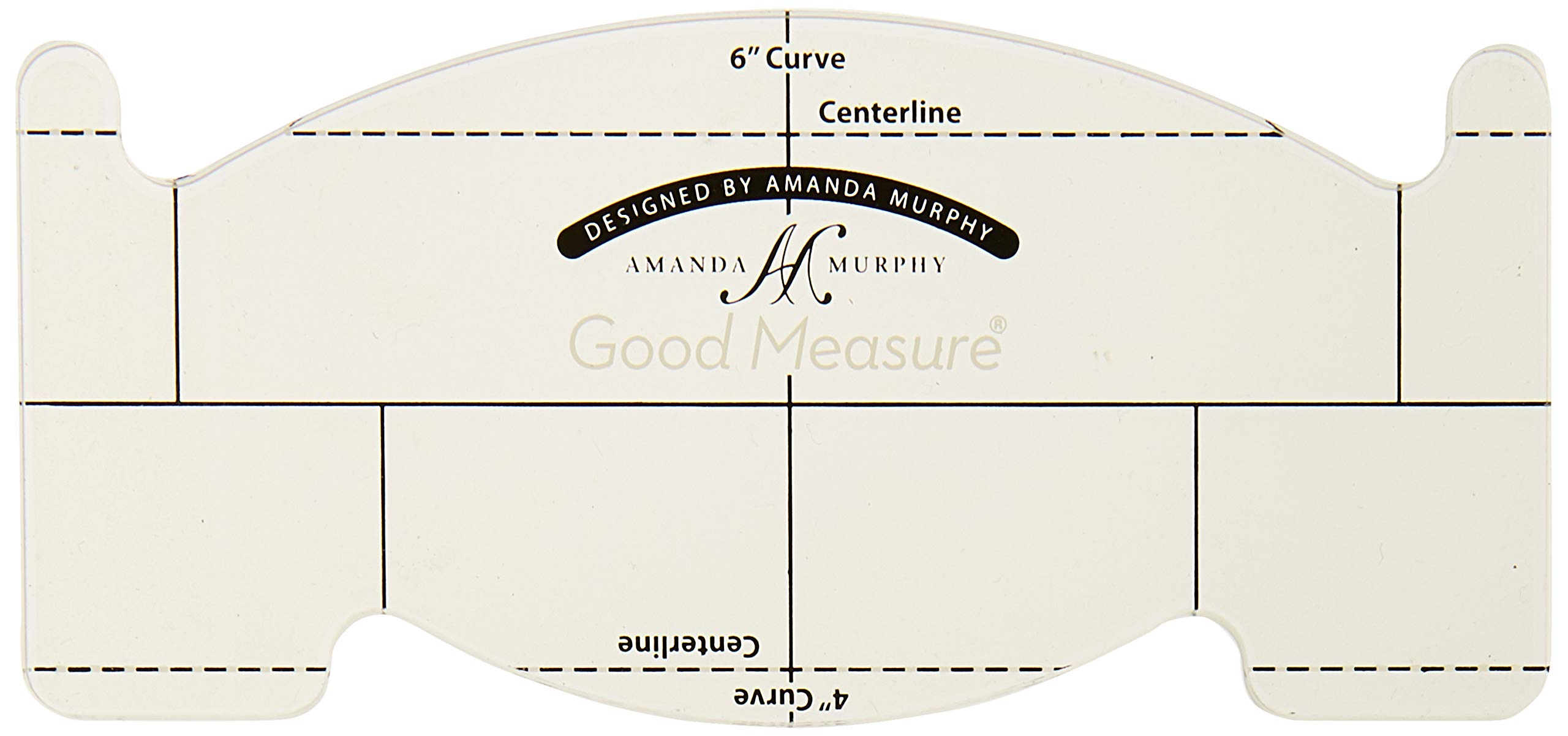 Good Measure''Every Feather Spine'' Longarm Quilting Template by Amanda Murphy by Good Measure