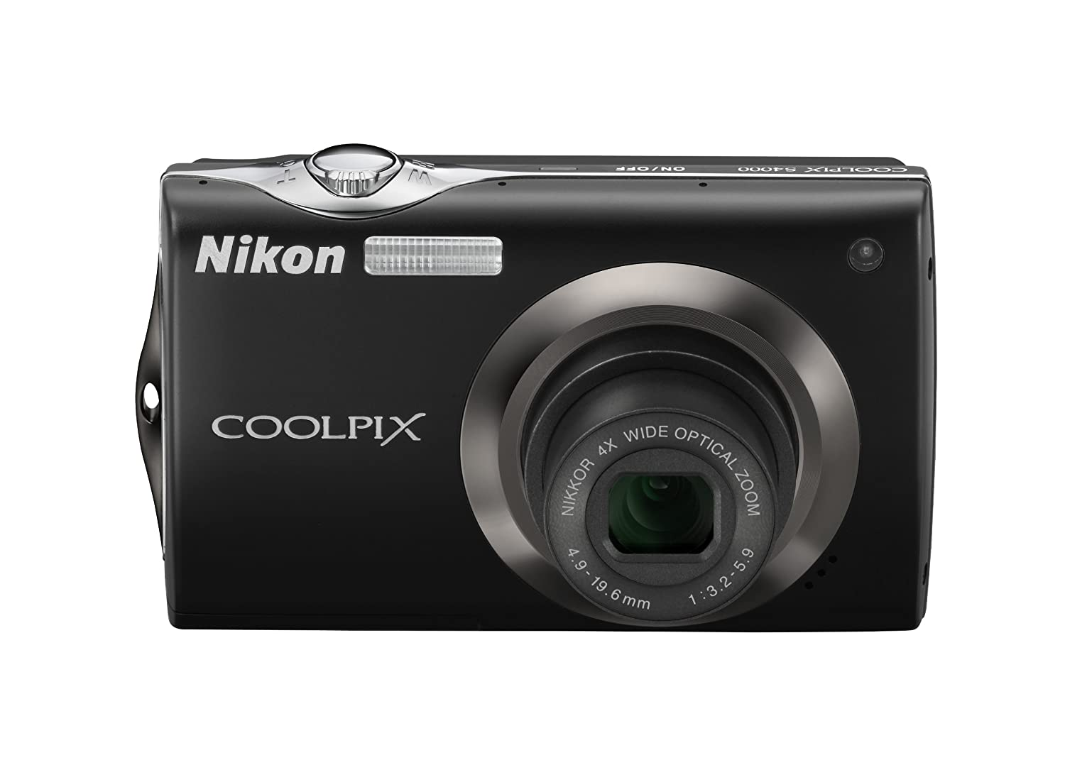 Amazon.com : Nikon Coolpix S4000 12 MP Digital Camera with 4x Optical  Vibration Reduction (VR) Zoom and 3.0-Inch Touch-Panel LCD (Black) : Point  And Shoot ...