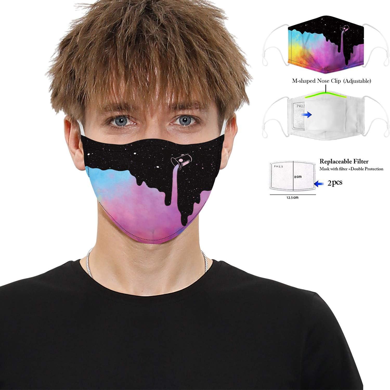 Filtros de aire deportivos anticontaminación para protección facial para protección de la cabeza de los ojos, anti-saliva, anti-saliva