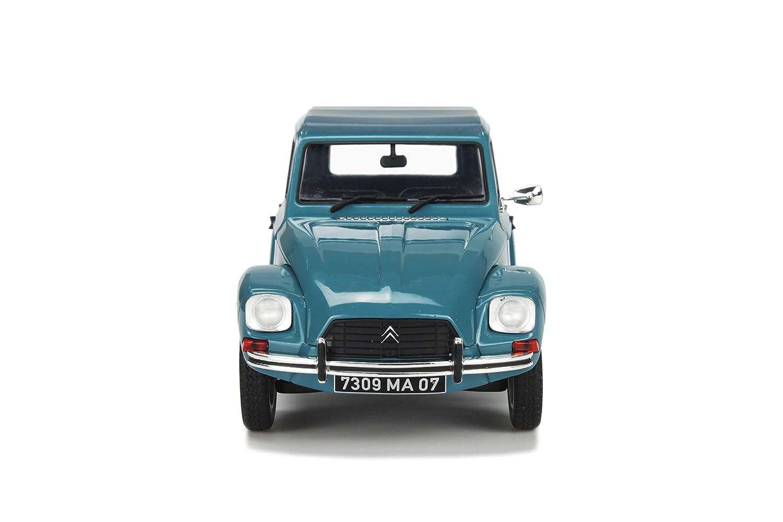 Solido s1800301 modellino auto citroen dyane 6 blu scala 1 18 amazon it giochi e giocattoli
