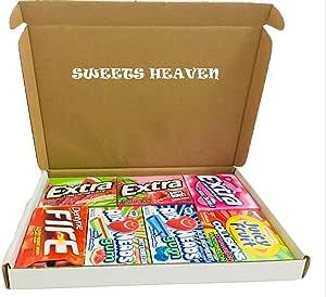 Sweets Heaven - Caja de regalo con diseño de goma americana: Amazon.es: Alimentación y bebidas