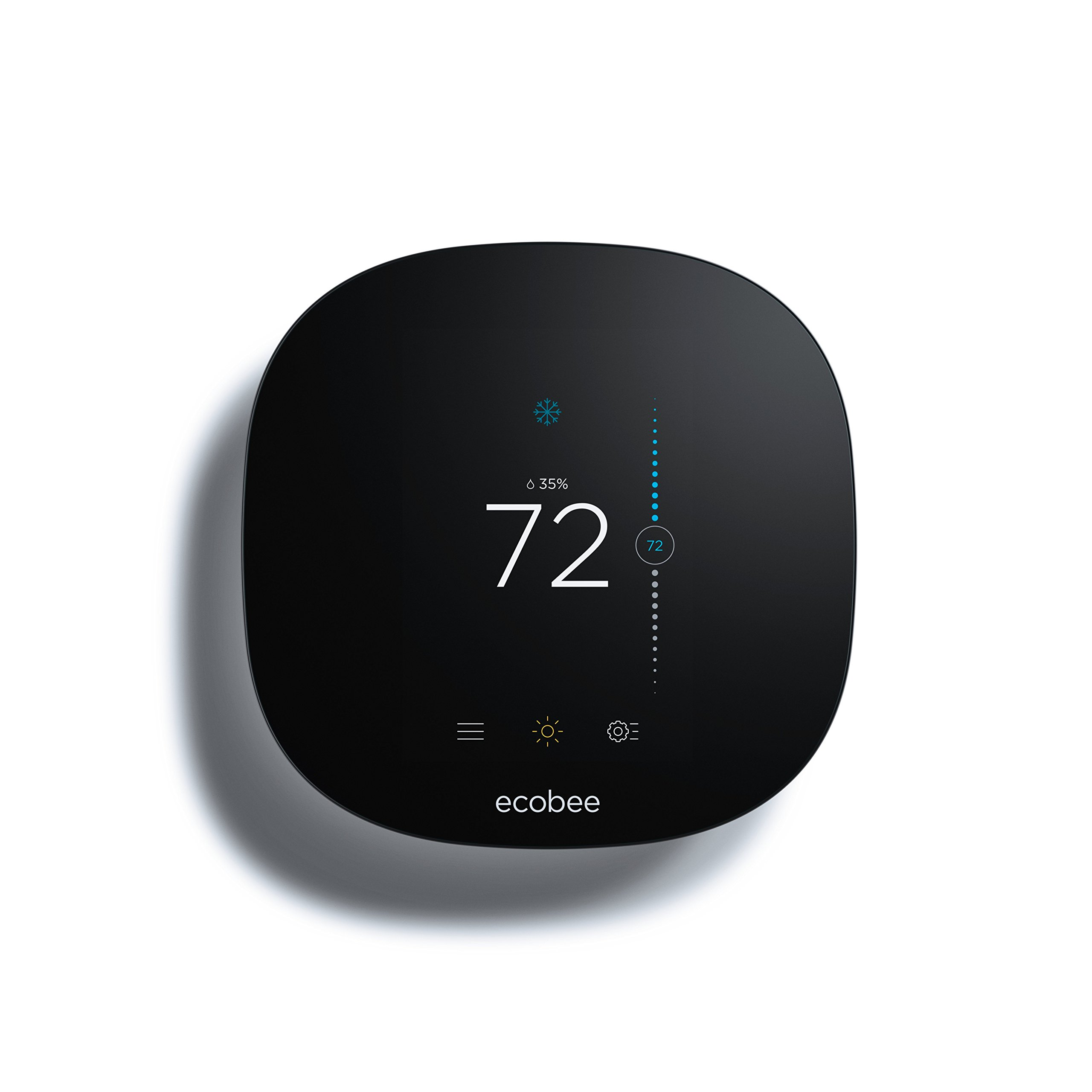 ecobee3 lite Smart Thermostat, Works with Amazon Alexa, 2nd Gen by ecobee