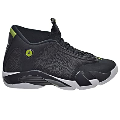 620cef83301795 Jordan Air 14 Retro Men s Shoes Black White Vivid Green 487471-005 (