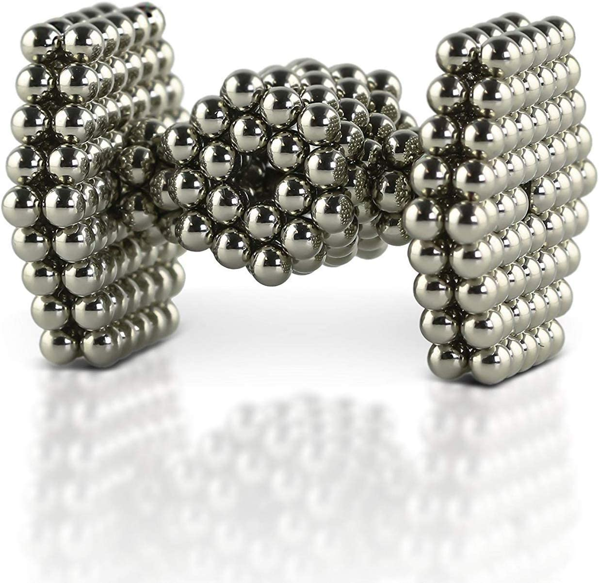 Magnets Sculpture Building Blocks Toys for Intelligence Learning-Office Toy /& Stress Relief for Adults N-A 3MM Magnetic Balls 1000 3MM Silver