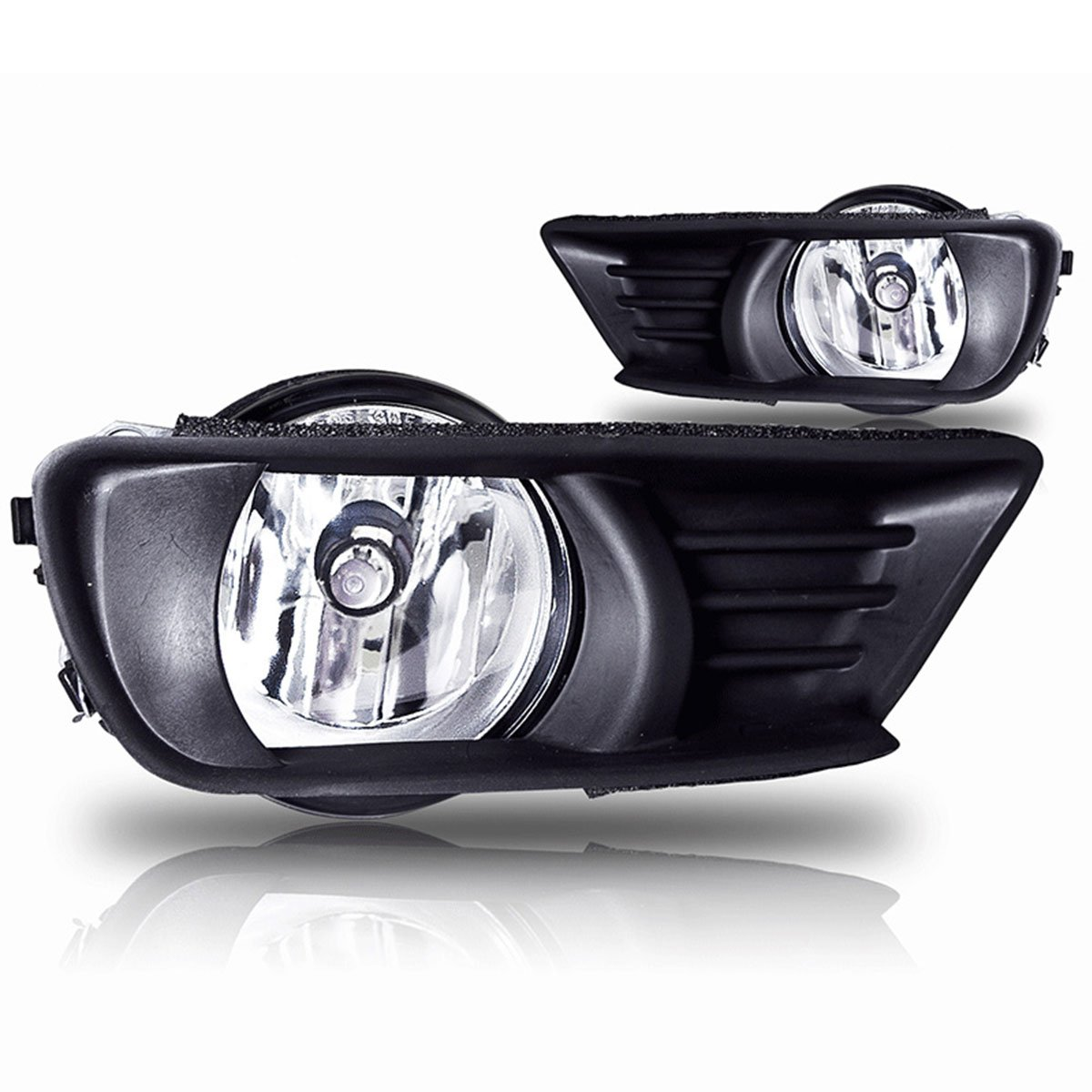 Amazon.com: 07-09 Toyota Camry Oem Fog Light - Clear (Wiring Kit Included)  (Pair): Automotive