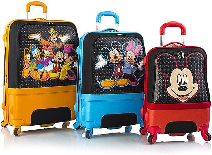 Mickey Mouse Kids Luggage Set; Courtesy of Amazon