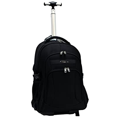 E-Z Roll Brand High-end 19 in. Laptop Rolling Backpack/Wheeled Backpack