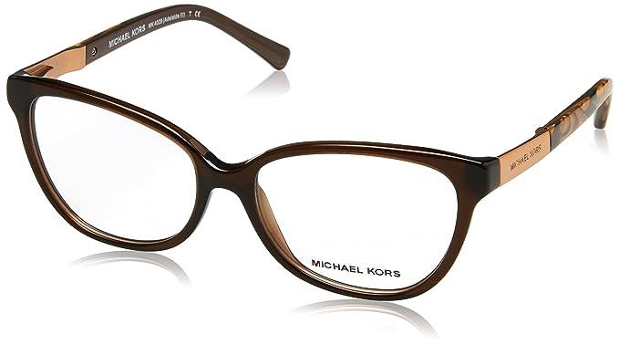 Michael Kors ADELAIDE III MK4029 Eyeglass Frames 3116-51 - Dk Brown ...