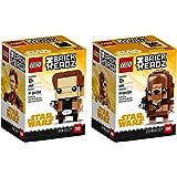 LEGO BrickHeadz_Bundle1_2018 Building Kit (290 Piece), Multicolor