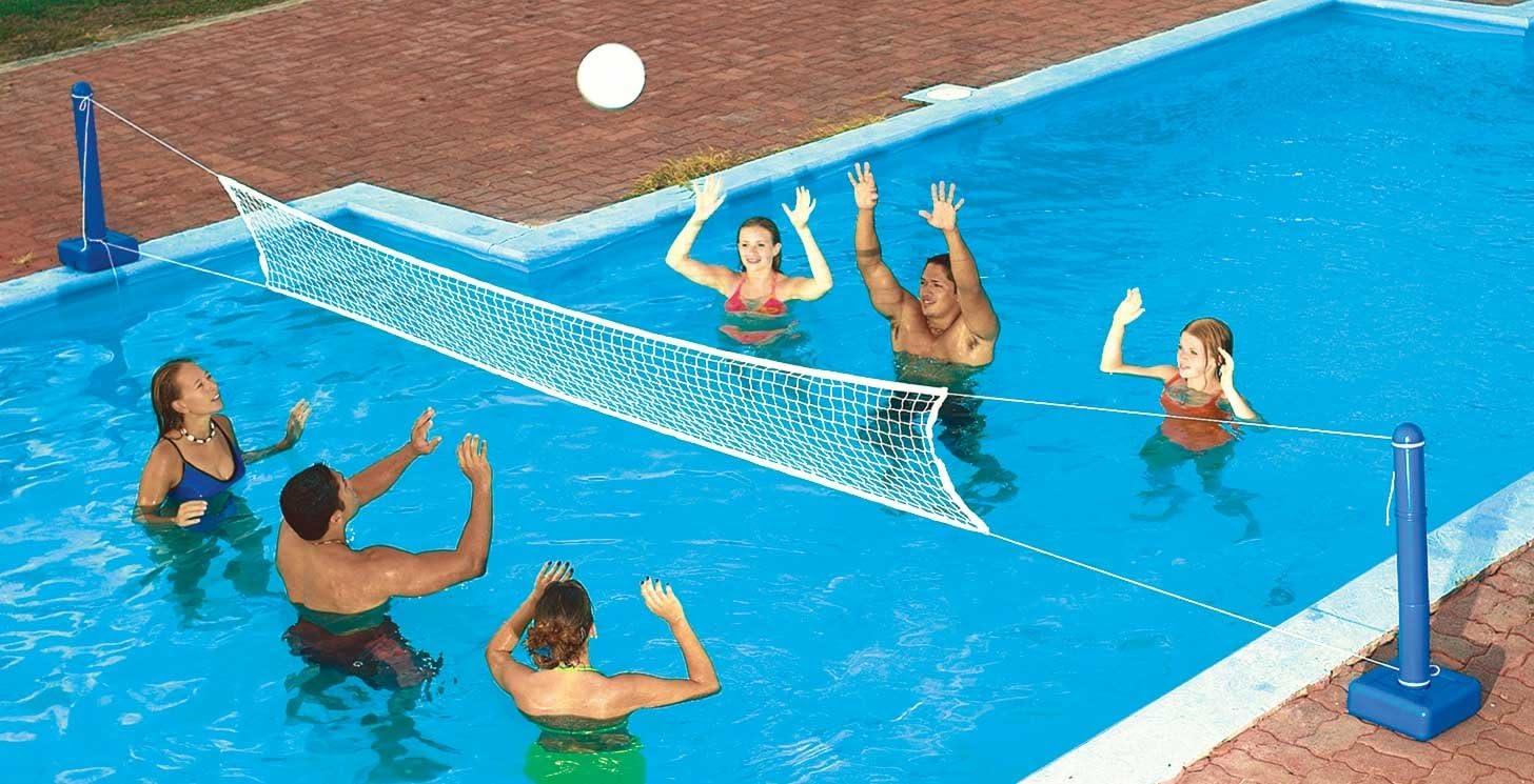 QuikSpike Pool Volleyball Set Photos | SwimShape