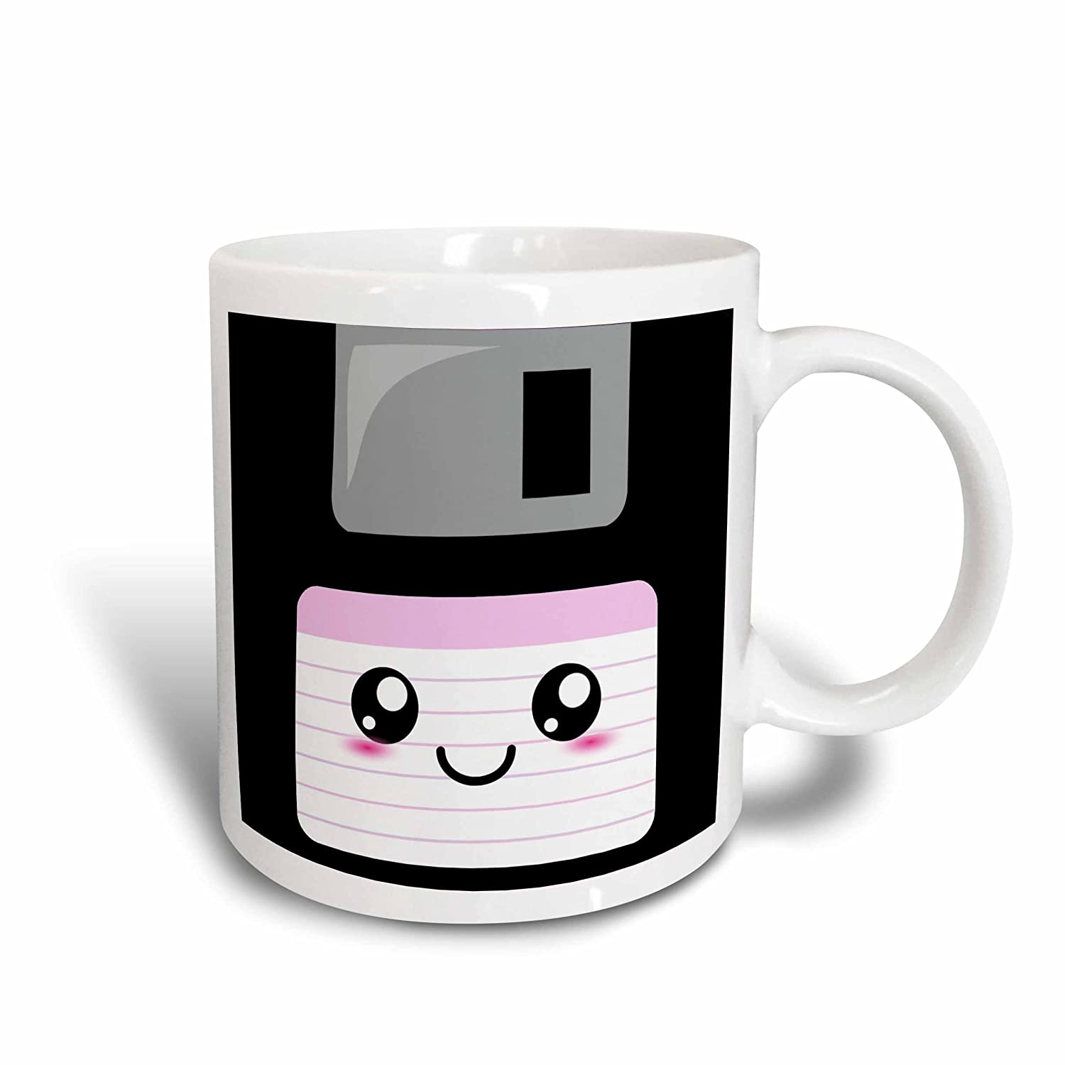 taza floppy kawaii
