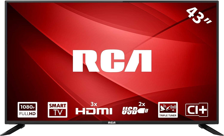 RCA RS43F1: Televisor LED Smart TV de 109 cm (43 Pulgadas) (Full ...
