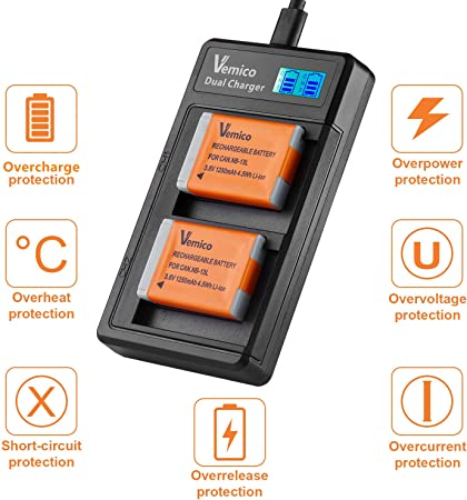 Vemico CAN.NB-13L Battery product image 11