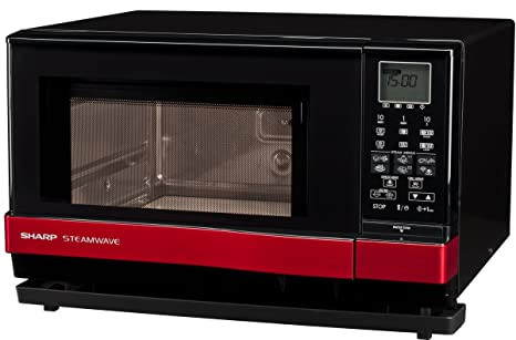 Amazon.com: Wave de vapor horno con mango de color rojo ...