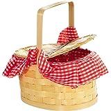 amscan 845342 Picnic Style Costume Purse - 1 Basket, Multicolor, One Size