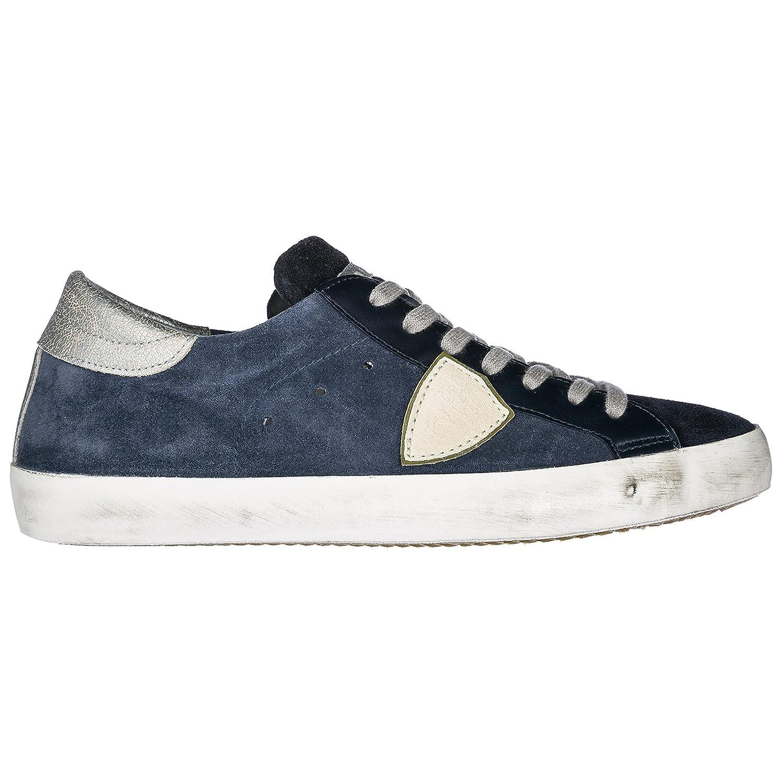 Philippe Model Zapatos Zapatillas de Deporte Hombres Paris BLU 42 EU