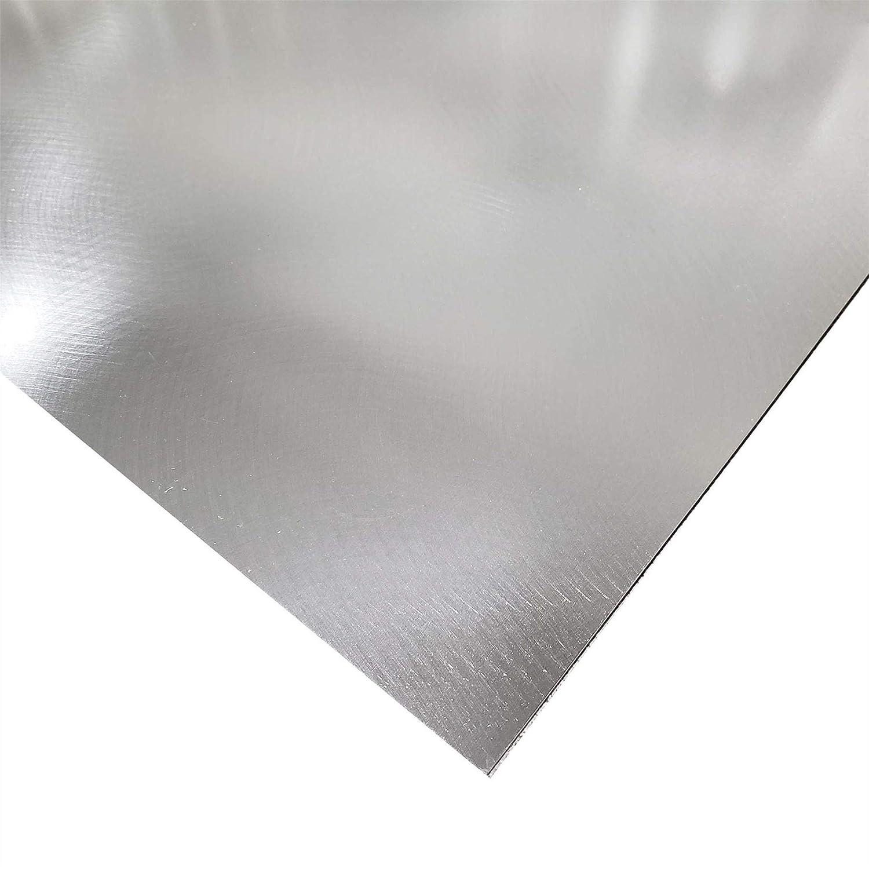 Online Metal Supply 3003-H14 Aluminum Sheet 0.125 x 12 x 12