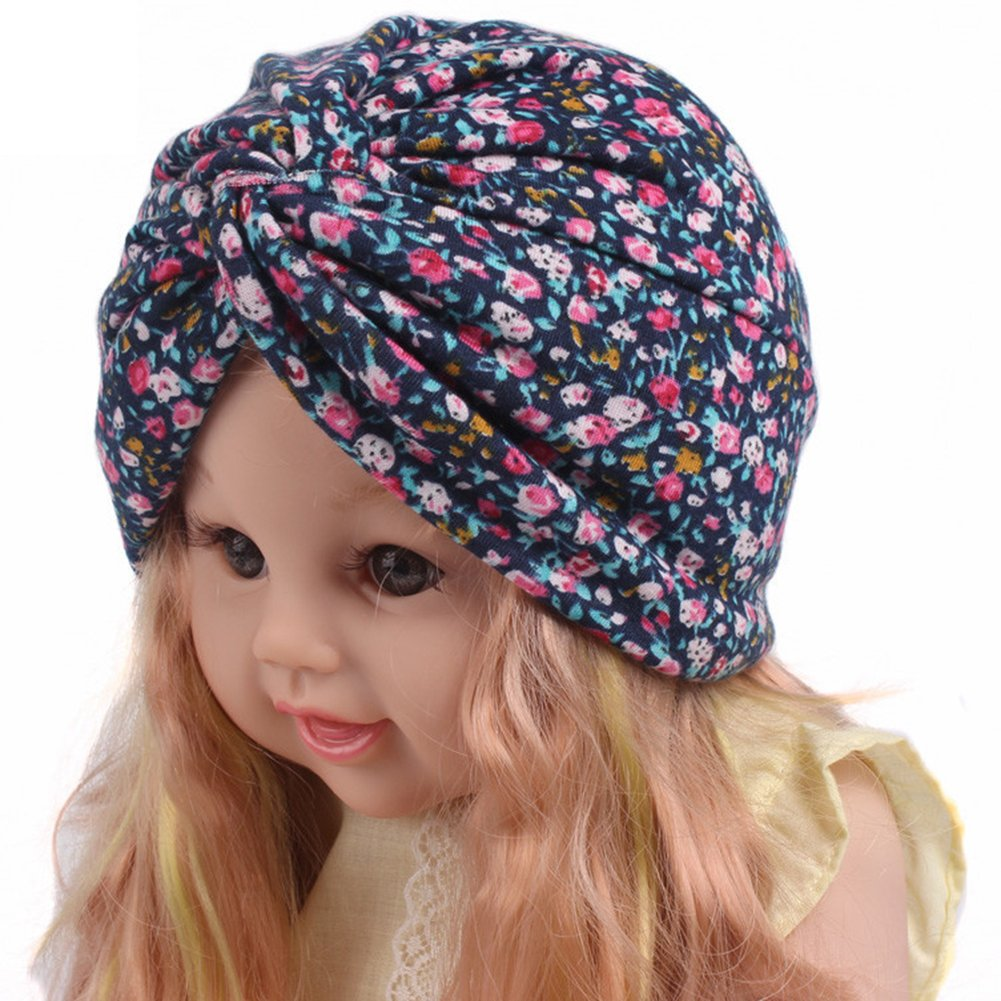 Kinder Baby Haar Kopf wickeln Mütze Jungen Mädchen Twist Knoten Turban Hut DE