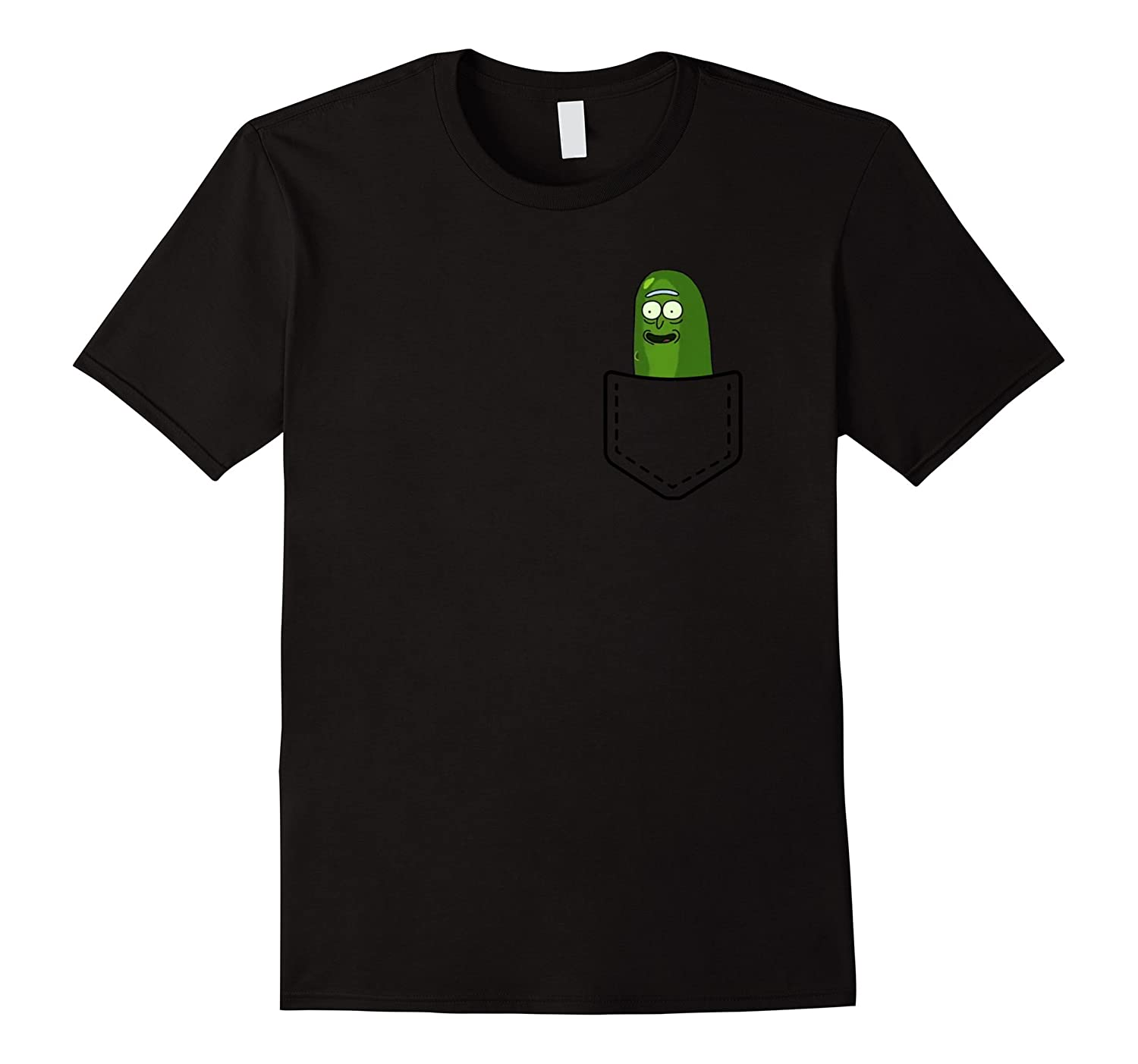 Pickle Funny Rick Pocket - into rick and go to the mortym