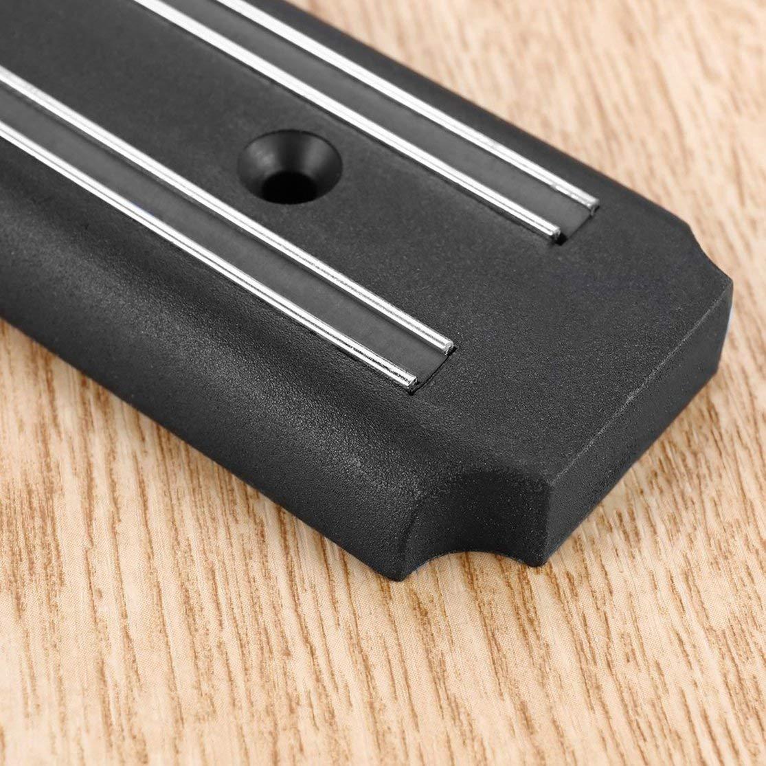 Soporte de almacenamiento de tijera de cuchillo magn/ético de pared Organizador de tira de im/án Herramientas de cocina pr/ácticas Organizador de barra de bar Organizador Kaemma Color:200/×50/×16mm