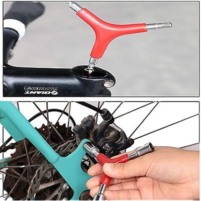 Bicycle Spoke Wrench Tool Nipple Fits All Sizes Bike Repair Kit Cycling Road MTB