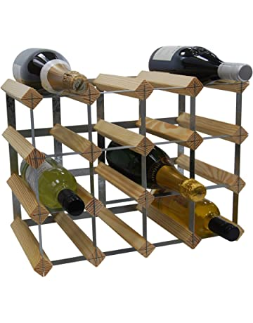 Swell Amazon Co Uk Wine Racks Kitchen Home Complete Home Design Collection Barbaintelli Responsecom