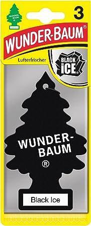 Wunderbaum 171239 Black Ice 3 Er Pack Auto
