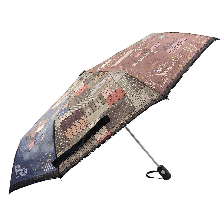 Paraguas Anekke Plegable autom/ático Estampado