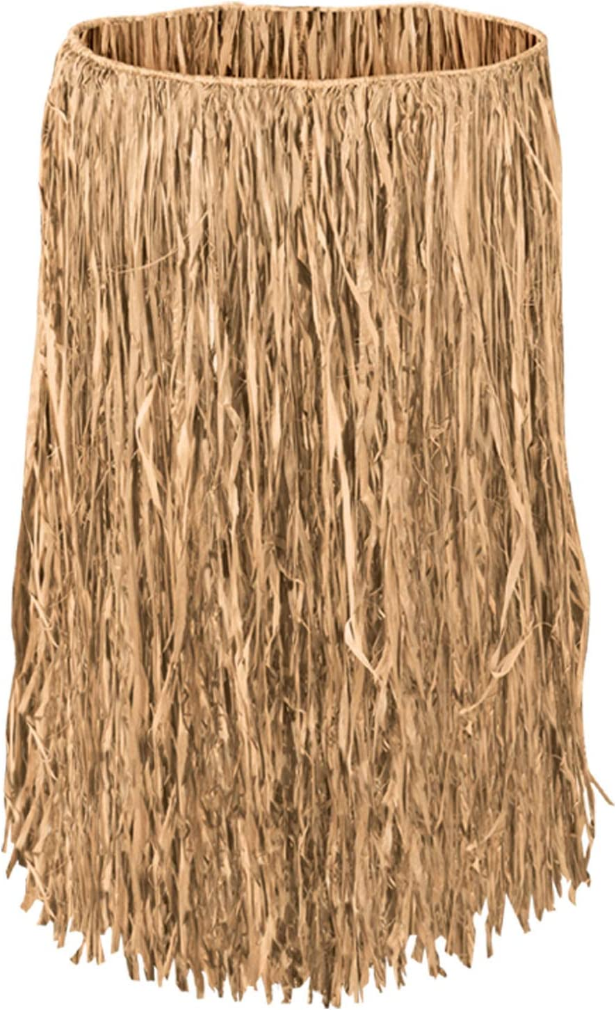 Beistle Adult Raffia Hula Skirt, 32-Inch Width by 30-Inch Length: Kitchen & Dining