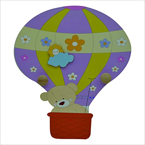 Fabula Linea globo - Perchero de pared silueta globo de ...