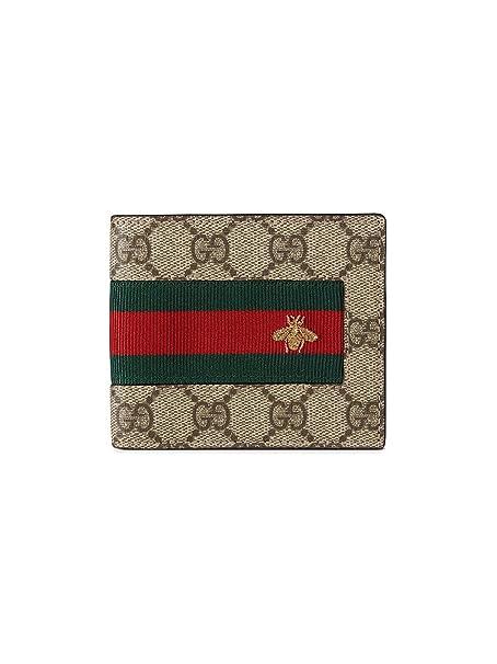 nuovo di zecca 0e904 a738d Gucci Portafoglio Uomo 408827KLQCN8461 Pelle Multicolor ...