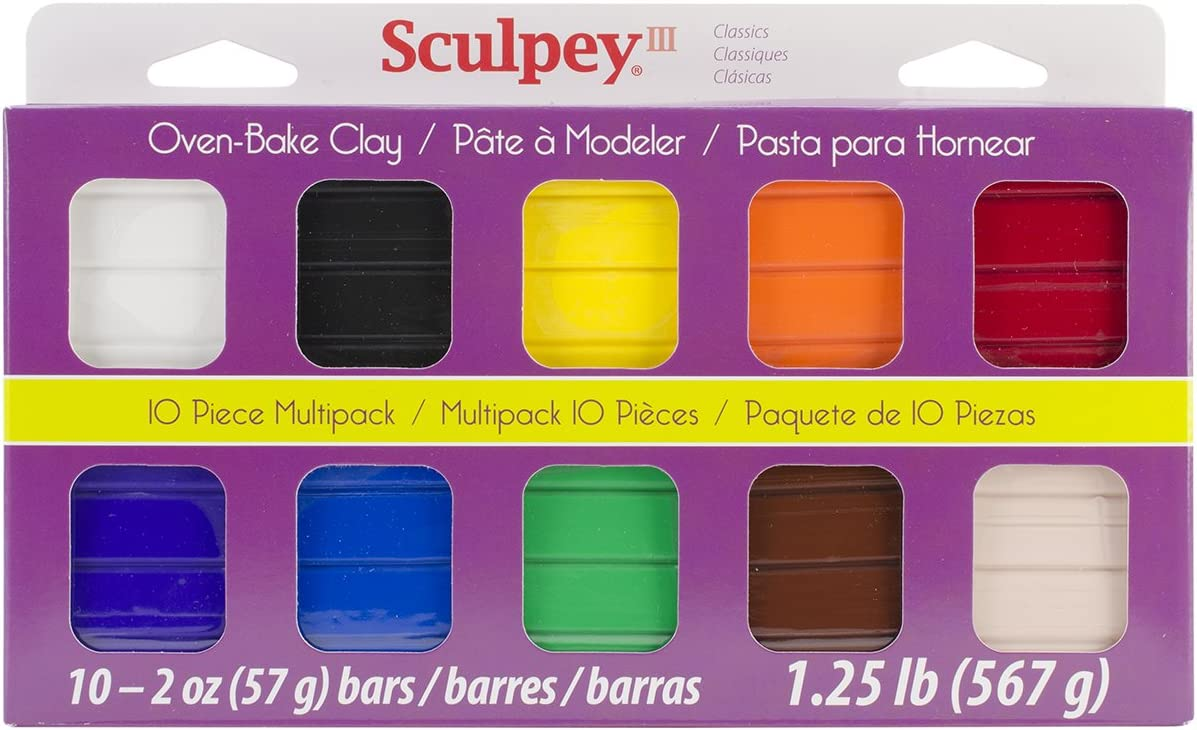 NEW Sculpey III Multipack  Classic Collection FREE SHIPPING