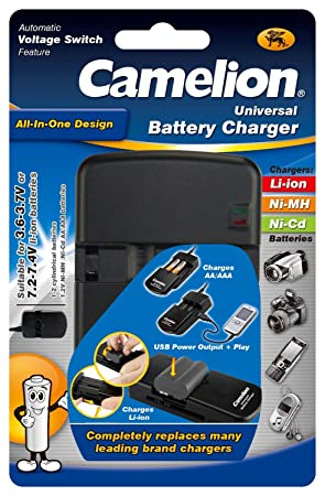 Camelion LBC-312 - Cargador Universal para baterías de Li ...