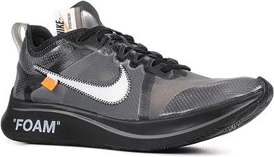 Nike The 10 Zoom Fly 'off White' AJ4588 001 Size 45 EU