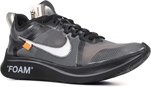 Nike Zoom Fly x Off White BlackWhite Cone Black Trainer