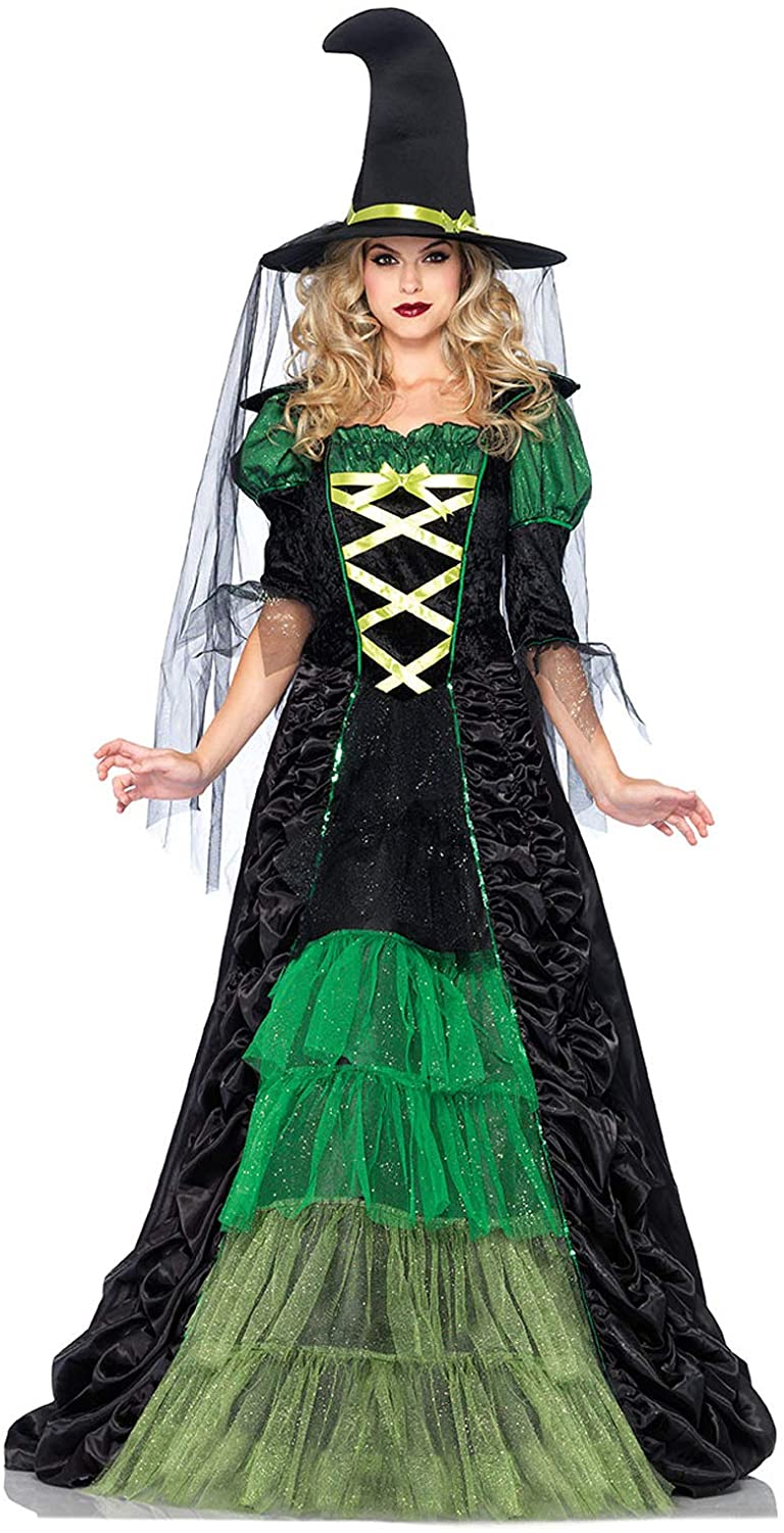 Leg Avenue Women's 2 Piece Storybook Witch Costume
