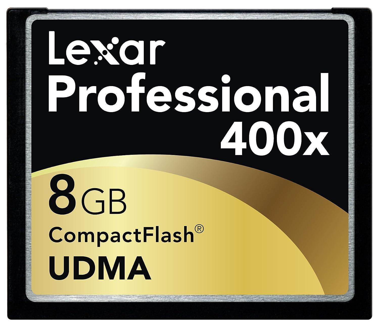 Lexar 400X - Tarjeta de Memoria Profesional UDMA Compact Flash 8 GB