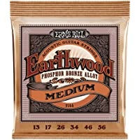 Ernie Ball Earthwood Medium Phosphor Bronze Acoustic String Set.013 - .056