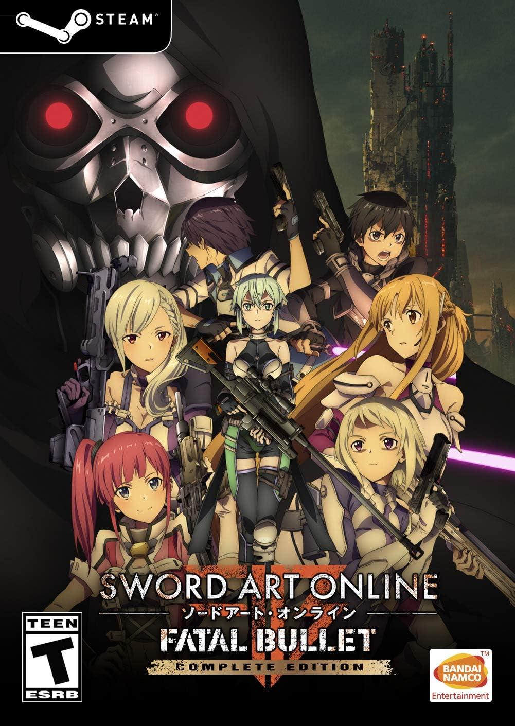 sword art online fatal bullet complete edition amazon