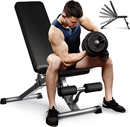 commercial grade adjustable incline bench weightlifting 350kg weight tested