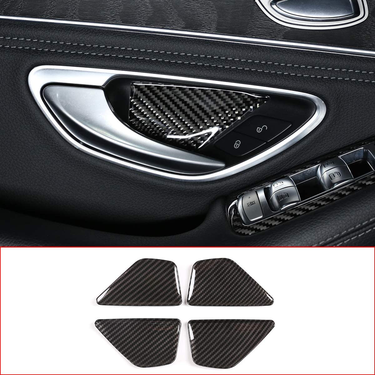 2020 E GLC W213 X243 2016 DIYUCAR T/ürsch/üsselabdeckung f/ür MB Benz C-Klasse W205 2015 Autozubeh/ör 2020 ABS-Kohlefaser