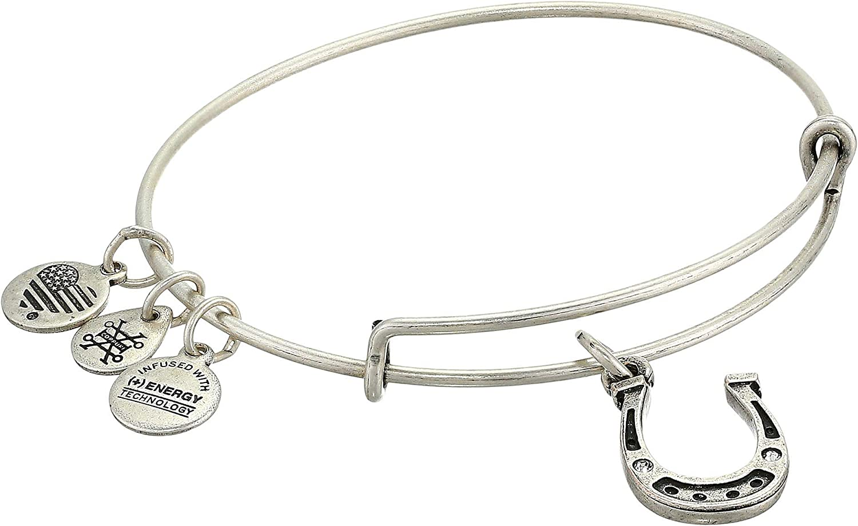 Alex and Ani Charity by Design, Horseshoe Bangle Bracelet