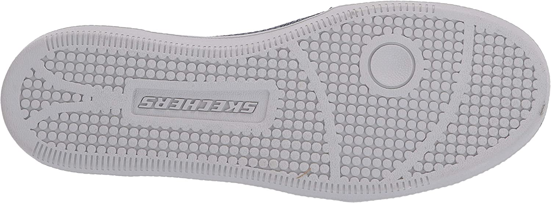 Skechers Madison Ave-Admissible Slip On Sneakers voor dames Blauw (Navy & Blue Knit Mesh/Vapor Trim Nvy).