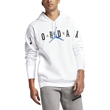 Nike Jumpman Brushed Graphic Po 2 Sudadera Línea Michael Jordan, Hombre, Blanco (White, 3XL: Amazon.es: Deportes y aire libre