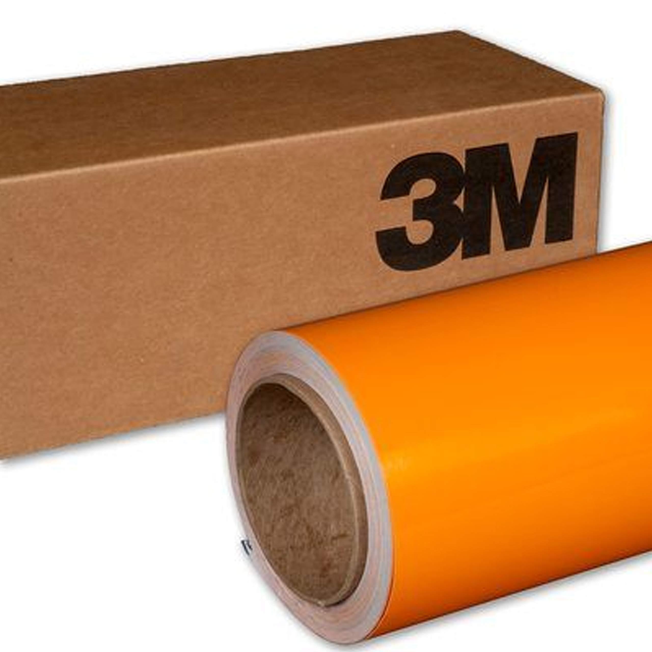 3M 1080 G364 Gloss Fiery Orange 3in x 5in Car Wrap Vinyl Film Sample Size