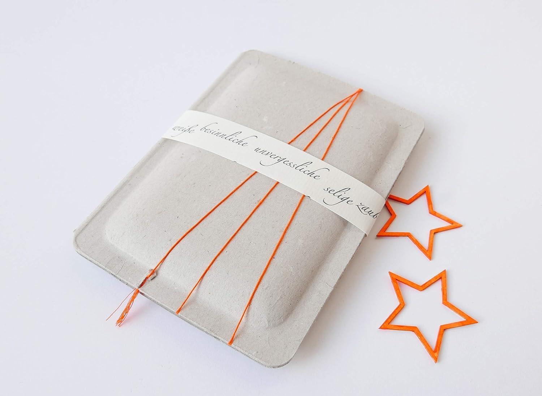 Weihnachten Geldgeschenk Verpackung Sterne